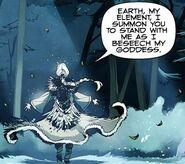 Freya summoning Earth