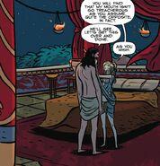 Circe's bedchambers
