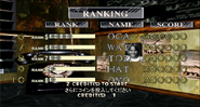 House of the Dead 2 prototype score screen