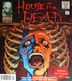House of the Dead 2003 comic