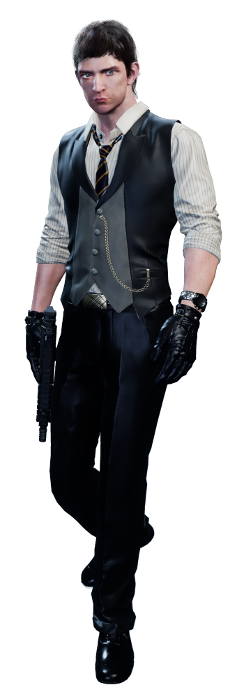 Ryan Taylor, ♂ playable character in game