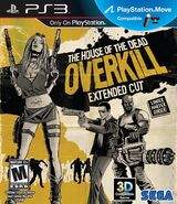 The House of the Dead Overkill Extended Cut box art