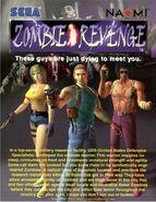 Zombie Revenge flyer2 front