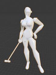 Sindy model front