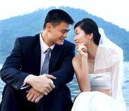 Yao-ming-ye-li-wedding
