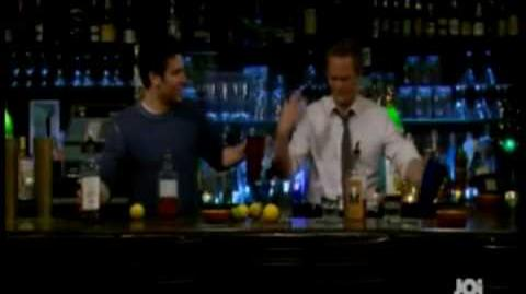 Ted and Barney Bartenders
