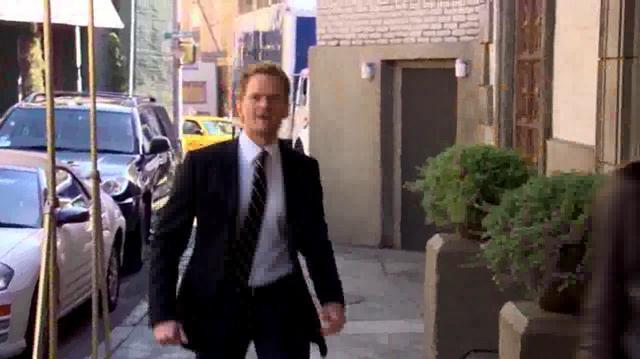 "Barney Stinson - ""Nothing suits me like a suite"" (How I met your mother)"