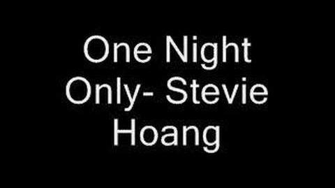 One Night Only- Stevie Hoang**fresh**(2007)rnb hot