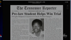 Pre-law Student Helps Win Trial