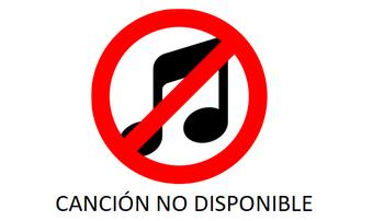 No canción
