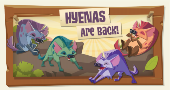 Hyenas are back