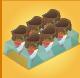 Waffle cone display