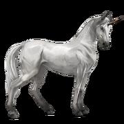 Marwari Unicorn - Light Gray