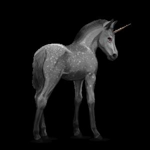 Fil:Akhal Teke Unicorn Foal - Dapple Gray.png