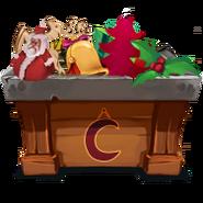Weihnachtsbaumreise Box Deko