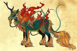 Qilin-of-Chinese-mythology