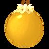 Einfarbig gelbe Kugel
