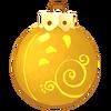 Gelbe Spiralkugel
