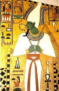 Osiris Gottheit
