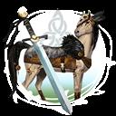 Keltische Pferde