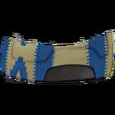 Western-Satteldecke 2 Blau