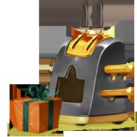 Geschenkmaschine 2013