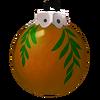 Kupferfarbene Weihnachtsbaumkugel