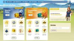 Sonderangebote für neue Spieler - Starter-Paket & Competitor-Paket