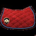 Klassische Satteldecke 2 Rot Blau