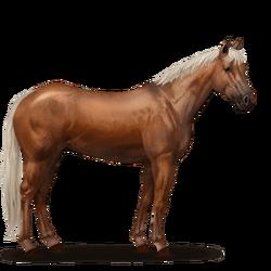 Quarter Horse Fuchs mit heller Mähne