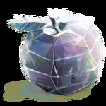 Diamantener Apfel