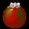 Rote Weihnachtsbaumkugel