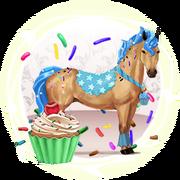 Die besonderen Pferde - Kuchenstücke