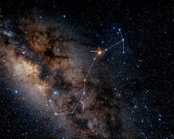 Skorpion Sternenbild