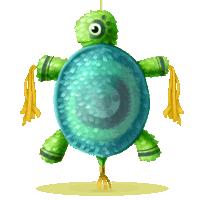 Pinata 2013 Schildkröte