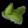 Fliegenohren 2 Grün Weiß