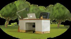 Howrse Reitzentrum Büro