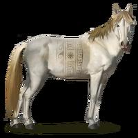 Ainos-Wildpferd
