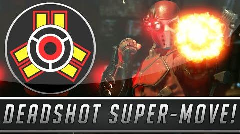 Injustice 2 Deadshot Super Move Gameplay (Injustice Gods Among Us 2)