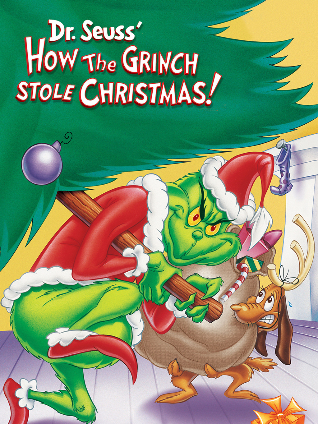 How The Grinch Stole Christmas 1966 Movie Poster.How The Grinch Stole Christmas Tv Special Grinch Wiki