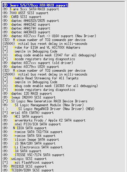 Linux-2.6.10-menuconfig--Device-Drivers--SCSI--lowlevel-I