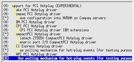 Linux-2.6.10-menuconfig--Bus-options--PCI-hotplug
