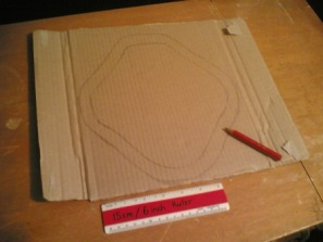 Reusable pad-cardboard 1