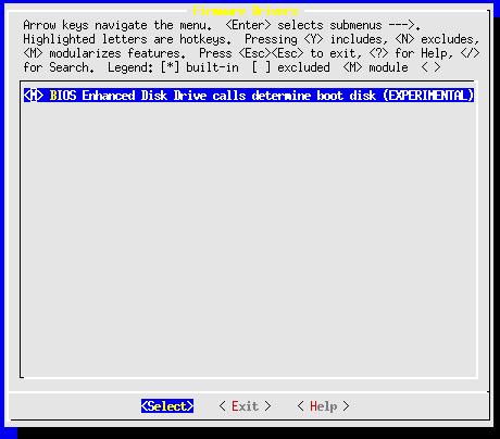 Linux-2.6.10-menuconfig-processor-type-feture--proc-firmware-drivers