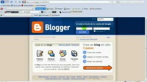 Como Hacer un Blog Optimizado en Blogger paso a paso parte 1