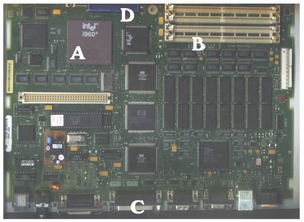 How to identify computer chips or integrated circuits on