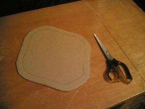 Reusable pad-cardboard 2