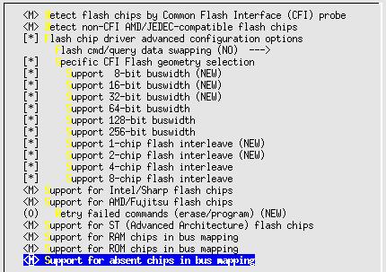 Linux-2.6.10-menuconfig--Device-Drivers--ram-rom-flash-driver