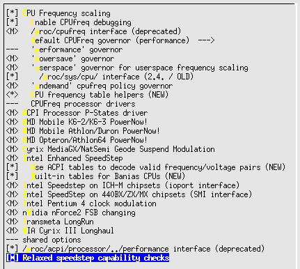 Linux-2.6.10-menuconfig--Power-management--CPU-Freq-scaling