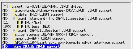 Linux-2.6.10-menuconfig--Device-Drivers--old-CDROM